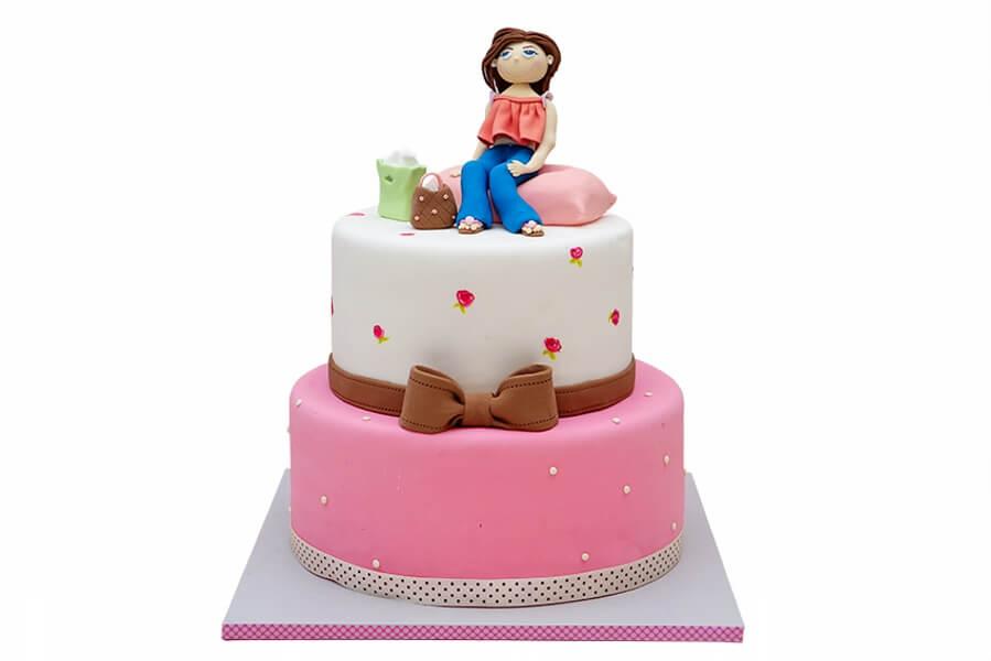 עוגת בצק סוכר